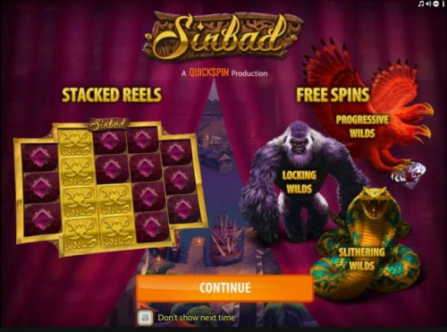 features include Stacked Wilds. Free Spins, Progressive Wilds, Locking Wilds and Slithering Wilds - Hotslot