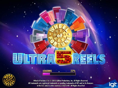 Wheel of Fortune Ultra 5 Reels by Hotslot