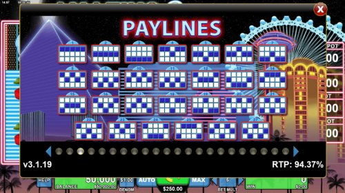 Paylines 1-27 by Hotslot