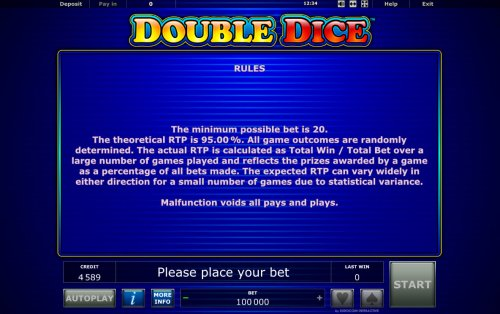 Double Dice by Hotslot