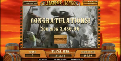 free spins feature pays out a $3,450 big win by Hotslot