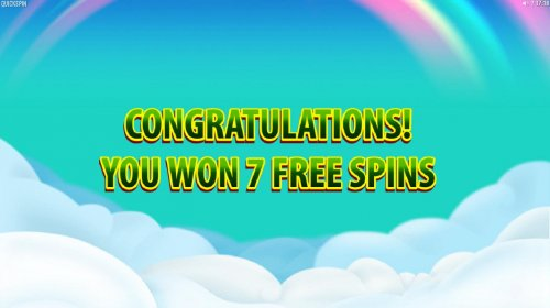 7 Free Spins awarded. by Hotslot