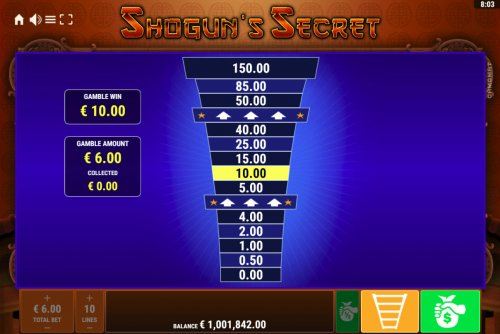Hotslot - Ladder Gamble Feature Game Board
