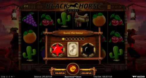 Hotslot - Black or Red Gamble Feature