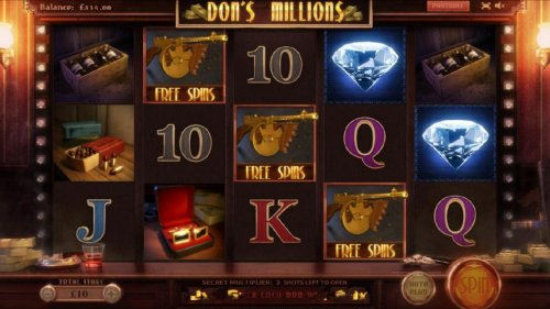 Hotslot - free spins feature triggered