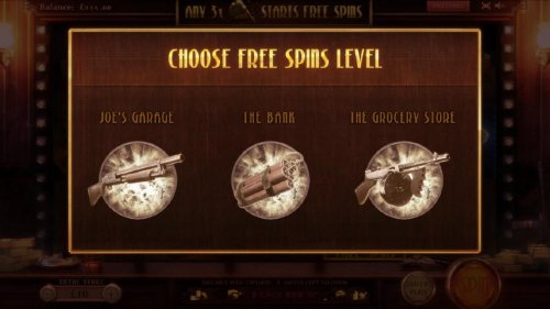 choose free spins level by Hotslot