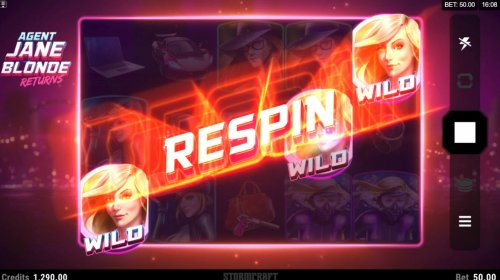 Respins continue until no more scatters appear on the reels by Hotslot