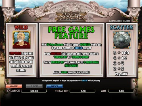 wild, scatter and free games rules by Hotslot