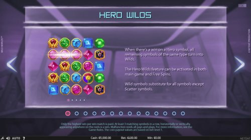 Hero Wilds Feature by Hotslot