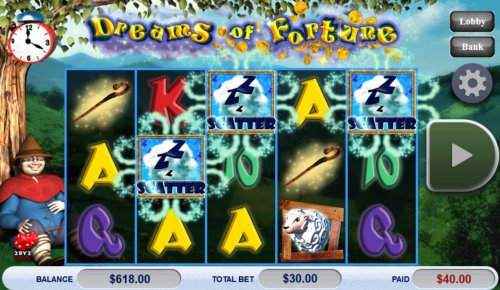 Hotslot image of Dreams of Fortune
