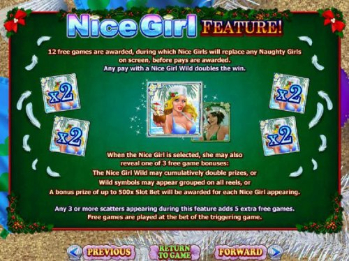 Nice Girl Feature Rules - Hotslot