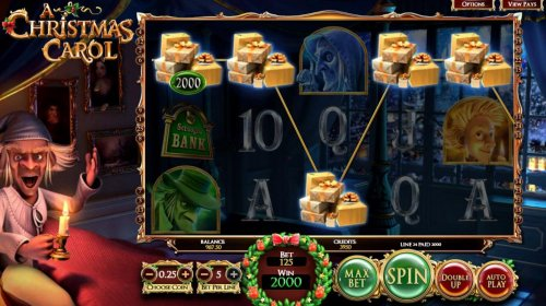 A five of a kind triggers a 2000 coin big win! by Hotslot