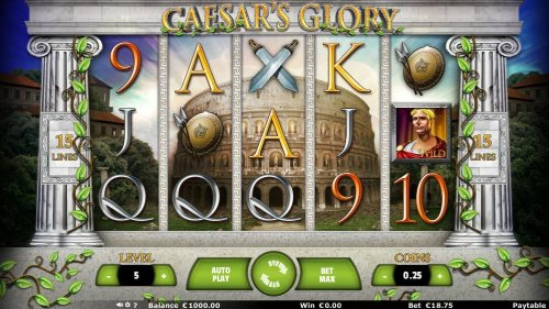 Images of Caesar's Glory