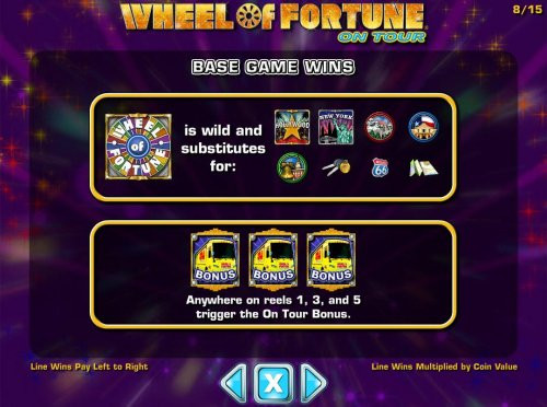 Hotslot image of Wheel of Fortune on Tour