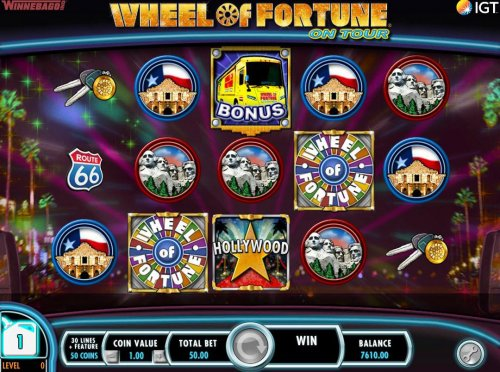 Hotslot - Collect fule points for every bonus symbol on screen that is not part of a winning combination.