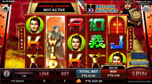 Free Spins Game Board by Hotslot