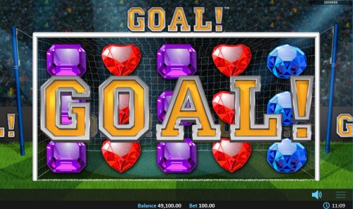 Goal feature triggered by Hotslot
