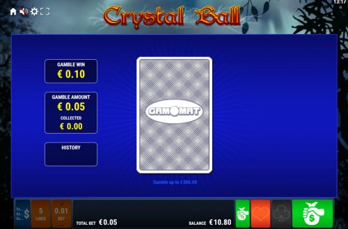 Card Gamble Feature Game Board by Hotslot