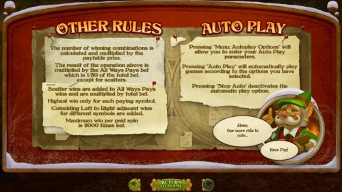 General Game Rules - Maximum win per paid spin is 2000 times bet. - Hotslot