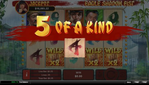 A winning five of a kind by Hotslot