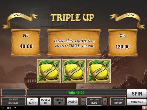 Triple Up Gamble Feature Rules by Hotslot