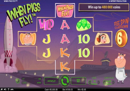 Main game board featuring five reels and 3125 ways to win with a $240,000 max payout by Hotslot