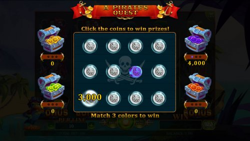 Hotslot - Pick coins and match 3 to win that treasure chest