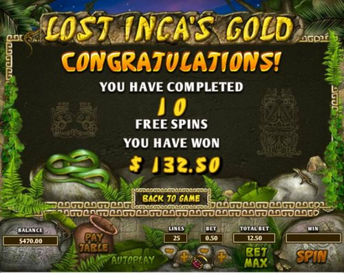 Lost Inca's Gold by Hotslot