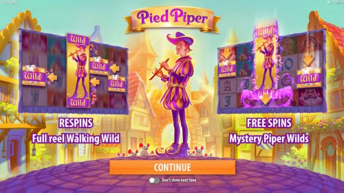 Hotslot image of Pied Piper