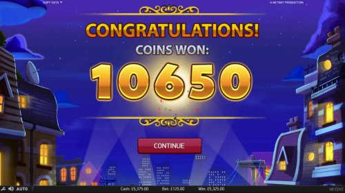 Total free games win 10650 coins. - Hotslot