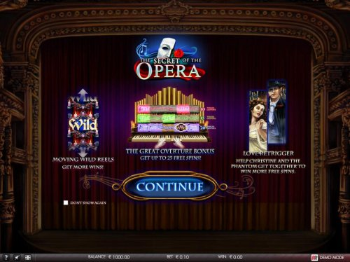 The Secret of the Opera by Hotslot