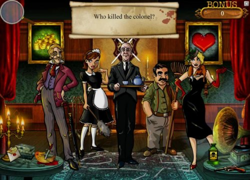 Hotslot - who killed the colone? select a suspect