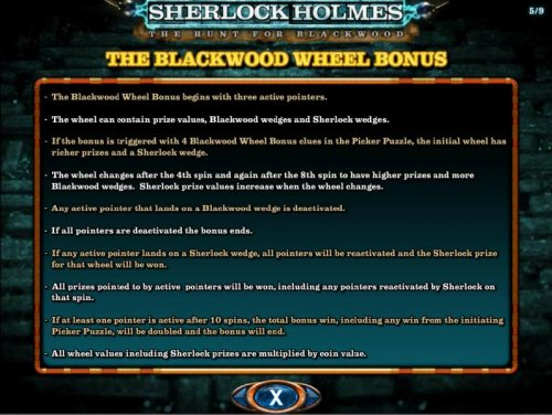 The Blackwood Wheel Bonus Game Rules and How to Play. by Hotslot