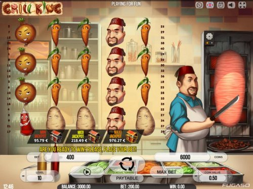 Hotslot image of Grill King
