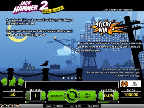 Images of Jack Hammer 2 - Fishy Business