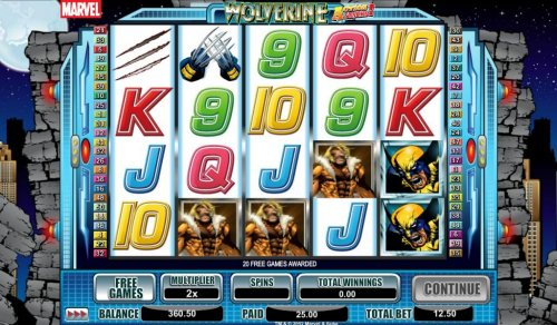 Wolverine Action Stacks by Hotslot