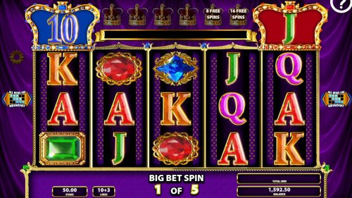Big Bet Game Board - Each Big Bet game consists of five linked games for one money. - Hotslot