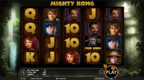 Images of Mighty Kong