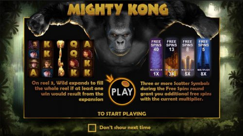 On reel 3, Wild expands to fill the whole reel if at least one win would result from the expansion. 3 or more scatters icons during the free spins grant you additional free spins. by Hotslot