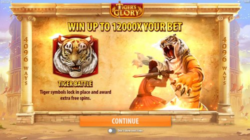 Tiger's Glory by Hotslot