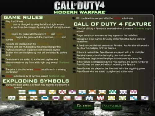 Call of Duty 4 by Hotslot