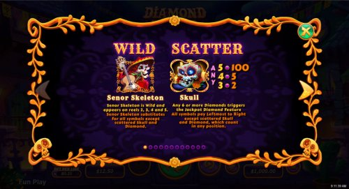 Wild and Scatter Rules - Hotslot