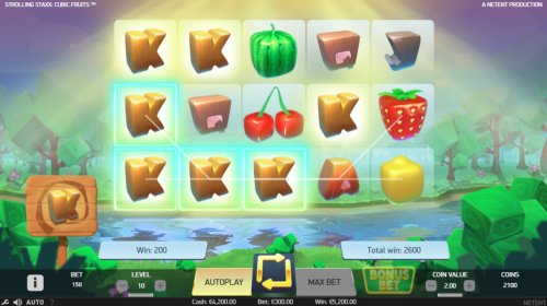 Hotslot image of Strolling Staxx Cubic Fruits