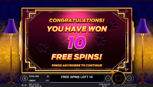 10 Free Spins Awarded. by Hotslot