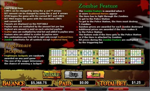 Images of Zone of the Zombies