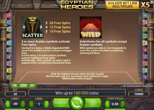 scatter and wild symbol game rules - Hotslot