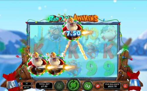 Images of Rudolph Awakens