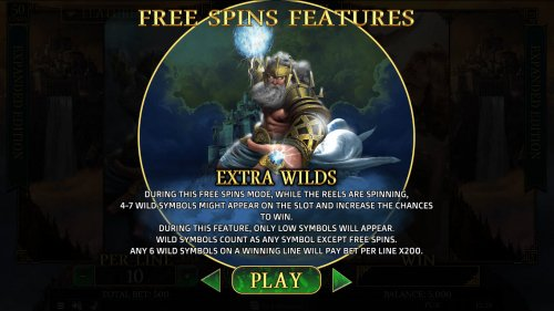 Zeus Free Spins by Hotslot