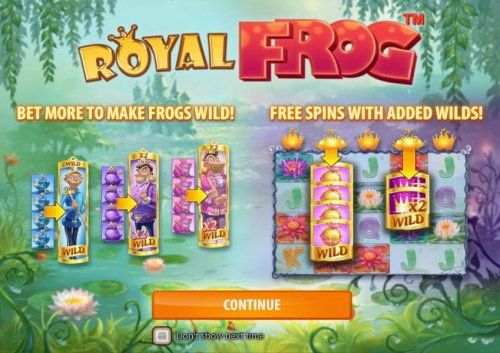 Images of Royal Frog