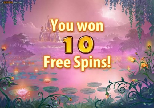 10 free spins have been awarded. by Hotslot